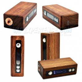 E-Box V2 Mini Wood Box Mod - 50W