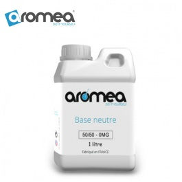 Pack DIY Base 1L 50% PG / 50% VG par Aromea - 1000ml
