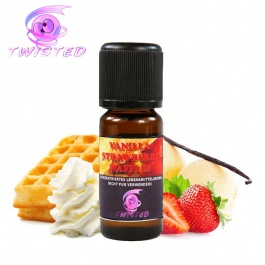 Vanilla Strawberry Waffles by Twisted Vaping - Arôme concentré DIY