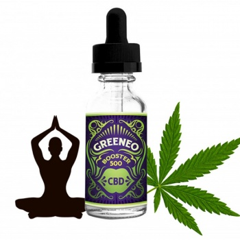 Booster de CBD GreenBoost 500mg par Greeneo - 10ml concentré