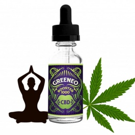 Booster de CBD GreenBoost 1000mg par Greeneo - 10ml concentré