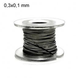 Kanthal A1 plat (ruban) - 0,3 mm x 0,1 mm (10m) - Fil résistif