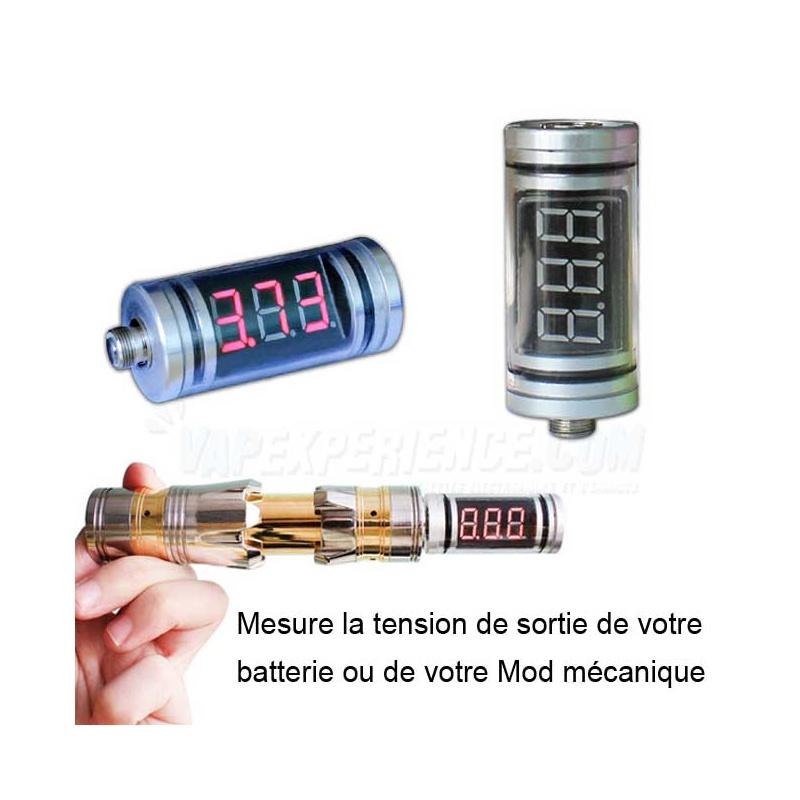 tankometer testeur de tension volts vap experience. Black Bedroom Furniture Sets. Home Design Ideas