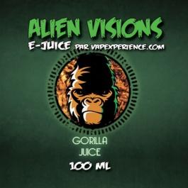 E-Liquide Alien Visions Gorilla Juice - Bouteille 100ml