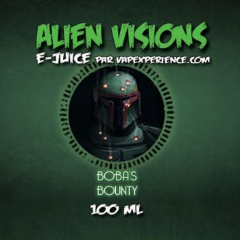 E-Liquide Alien Visions Boba's Bounty - Bouteille 100ml
