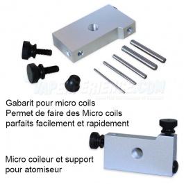 Gabarit fabrication résistance - Jig Coil Builder