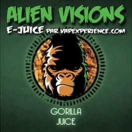 E-Liquide Alien Visions Gorilla Juice - Flacon 12ml